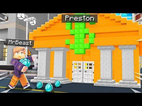 7 Ways To Steal Mrbeast S Diamonds In Minecraft Youtube Minecraft Creations Minecraft Games