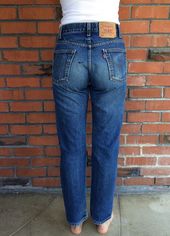 levis 505 jeans 27 waist oil stain high waist mom jeans high waist stains and levis. Black Bedroom Furniture Sets. Home Design Ideas
