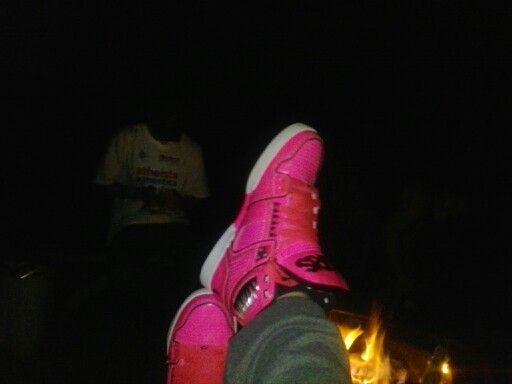 Pink osiris shoes...pimp