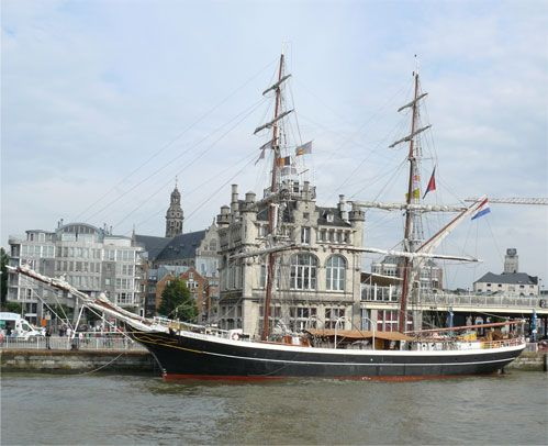 Morgenster .... Originally used as a North sea fishing boat !!