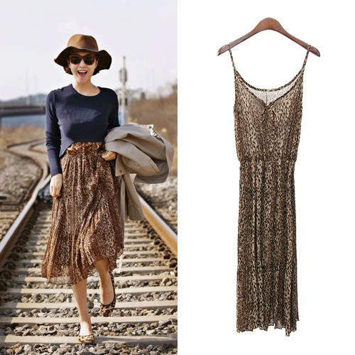 First Station Pleated Summer Dress