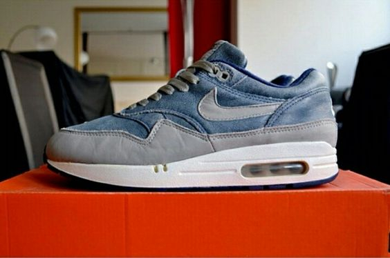 the latest 5c539 9c205 ... Nike Air Max 1 Dirty Denim Dope Sneakers Pinterest Air max, Clothes and  Fashion ...