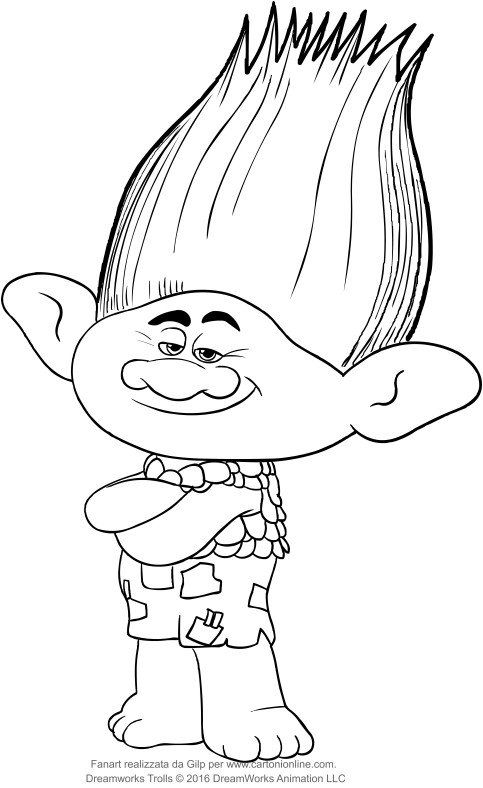 - Branch Trolls Coloring Pages Branch From The Trolls Coloring Pages In 2020  Branch Trolls, Coloring Pages, Poppy Coloring Page