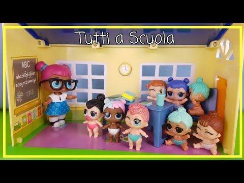 Lol Surprise 68 Biancaneve E Le 7 Lil Favola Bambole Regia Di Lollina By Lara E Babou Youtube Primo Giorno Di Scuola Scuola Lol