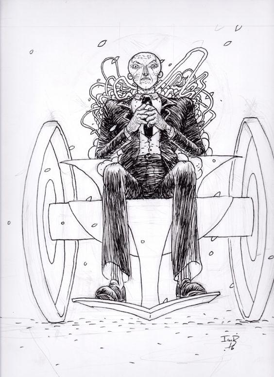 Professor X by Ian Bertram