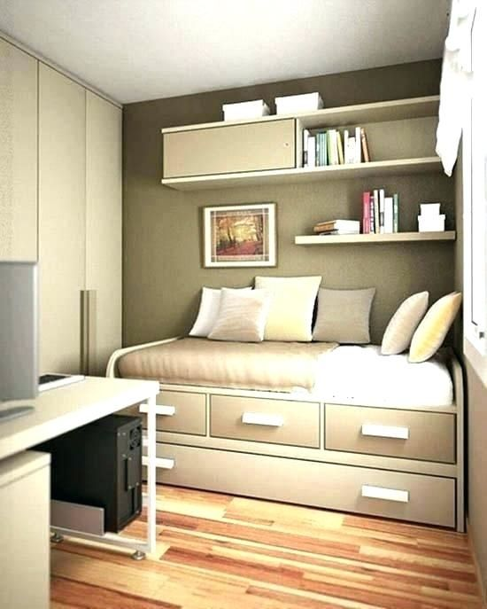 Ideas For Turning A Small Bedroom Into A Office Small Room Bedroom Small Bedroom Decor Tiny Bedroom