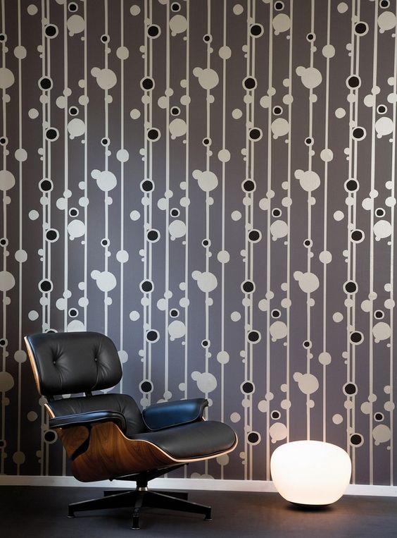 walldots in dark grey
