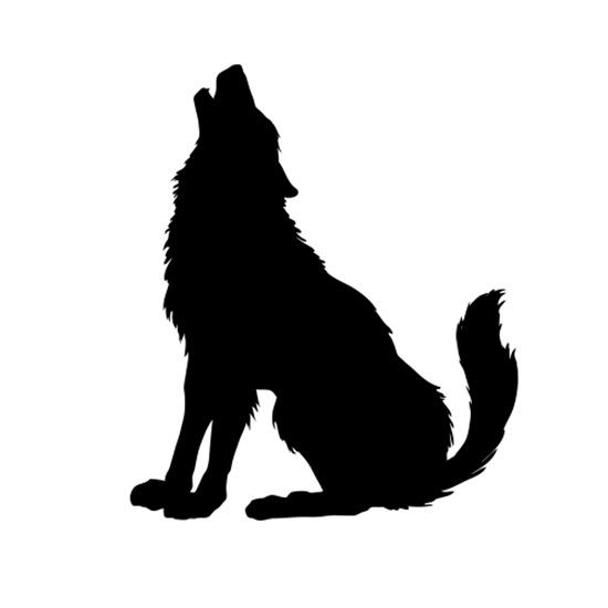 Pin By Nischal Seeparsand On Silhouette Store Wolf Silhouette Animal Silhouette Wolf Howling