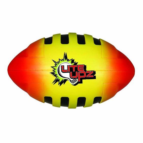 Franklin Sports LITE UPZ Illuminating Foam Football