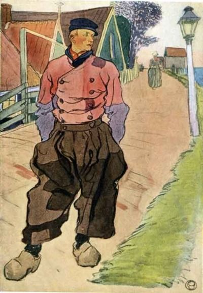 Edward Penfield illustration. He looks like he could be my ancestor!
