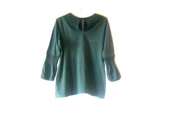 Dark Green Top by BCBGMAXAZRIA  UnwornSize MThe by PrettyVintage90, $25.99