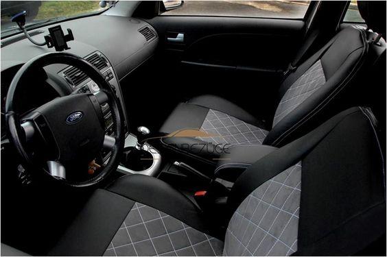 Passend zum Inneraum in einem Ford Mondeo Mk3 Model 2001. Sitzbezüge nach Maß aus dem Hause Designbezüge #designbezuege #designbezuege nach maß #Tuning, #Stickerei, #Tuning, #FORD Mondeo,  #Rautenmuster, #Leder,  #Autositzbezüge