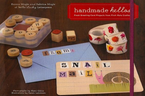 A review of Handmade Hellos: Fresh Greeting Card Projects from First-Rate Crafters