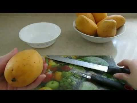 How To Easily Peel A Mango