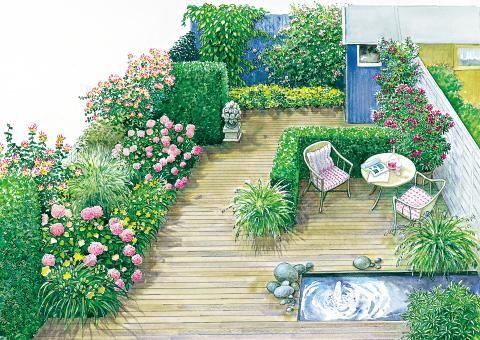 ein vorgarten wird zum gartenzimmer, Hause und Garten