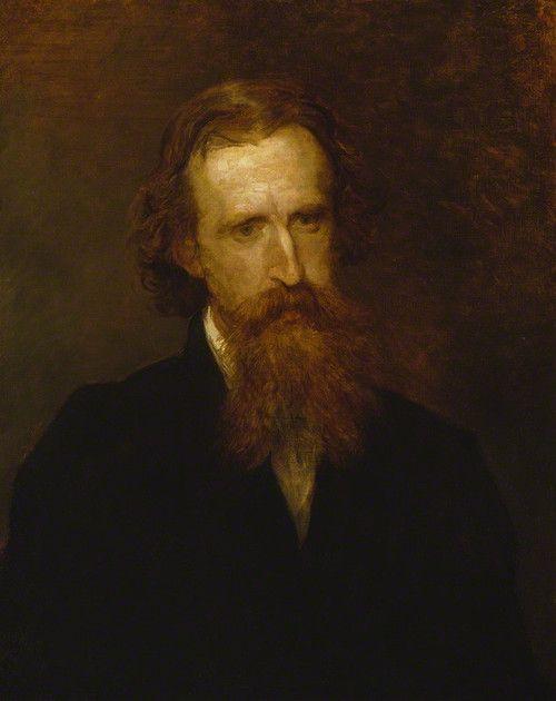 Portrait of Sir Leslie Stephen by George Frederic Watts 1878