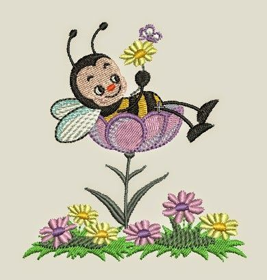 Design bees and embroidery on pinterest - Dessin a telecharger ...