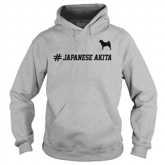 Akita  Hashtag Hoodie
