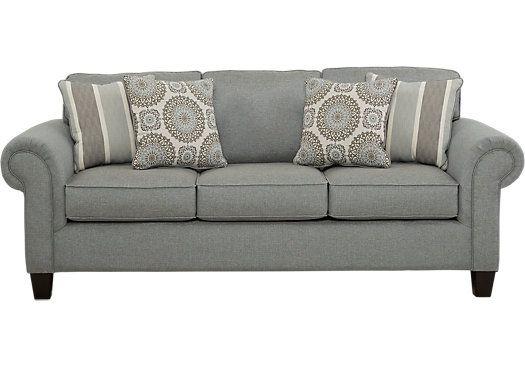 Sofas Rooms To Go Pennington Blue Sofa 10131186 Living