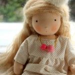 ELSIE mit Rosa 35cm