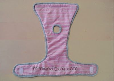 cloth diaper for dogs free pattern