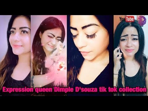 Expression Queen Dimple D Souza Tik Tok Collections Chennai Youtuber Youtube Hair Spa At Home Dimples Indian Skin Tone