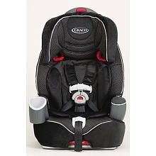 Graco Nautilus 3-in-1 Car Seat (forward-facing only seat). Another great choice for children who are ready to move from their outgrown, rear-facing convertible seat into a forward-facing 5-point harness. Harnesses to 65 pounds. Also converts to a booster later (high back and backless), but belt fit isn't great for all kids (not every seat works for every child!). Can be used in booster mode to 100 pounds.