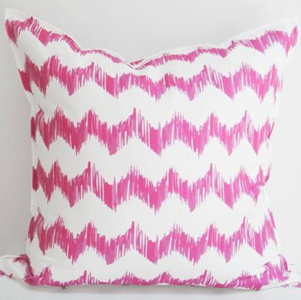 super cute chevron pillow.
