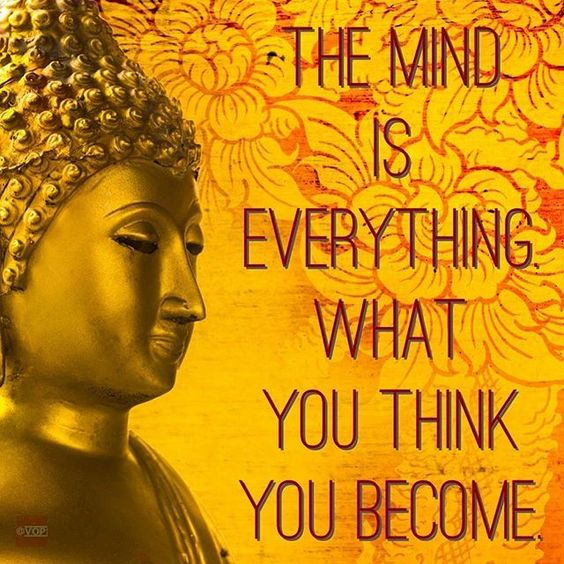 """Remember: """"The mind is everything. What you think you become."""" #Buddha. #VopToday"""