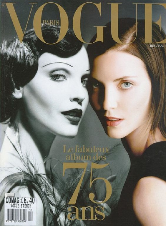 nADJA+AUERMANN+french+vogue+75+anniversary+ans+cover.jpg 1,000×1,364 pixels