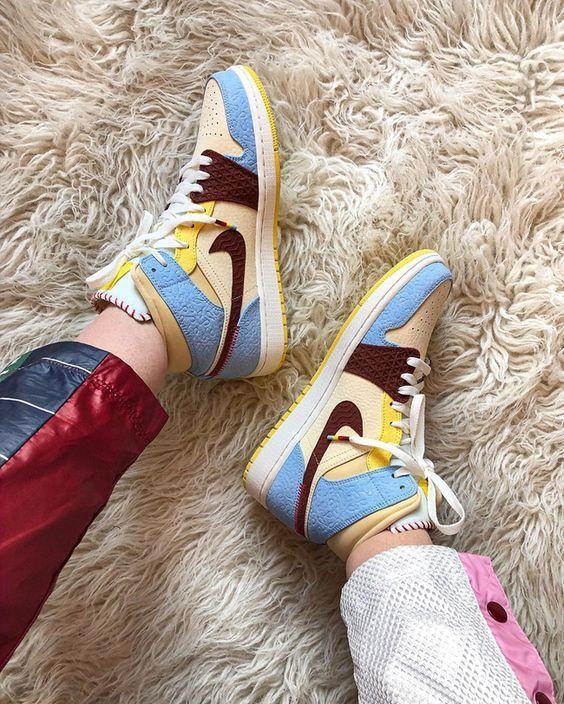 air jordan sneakers femme