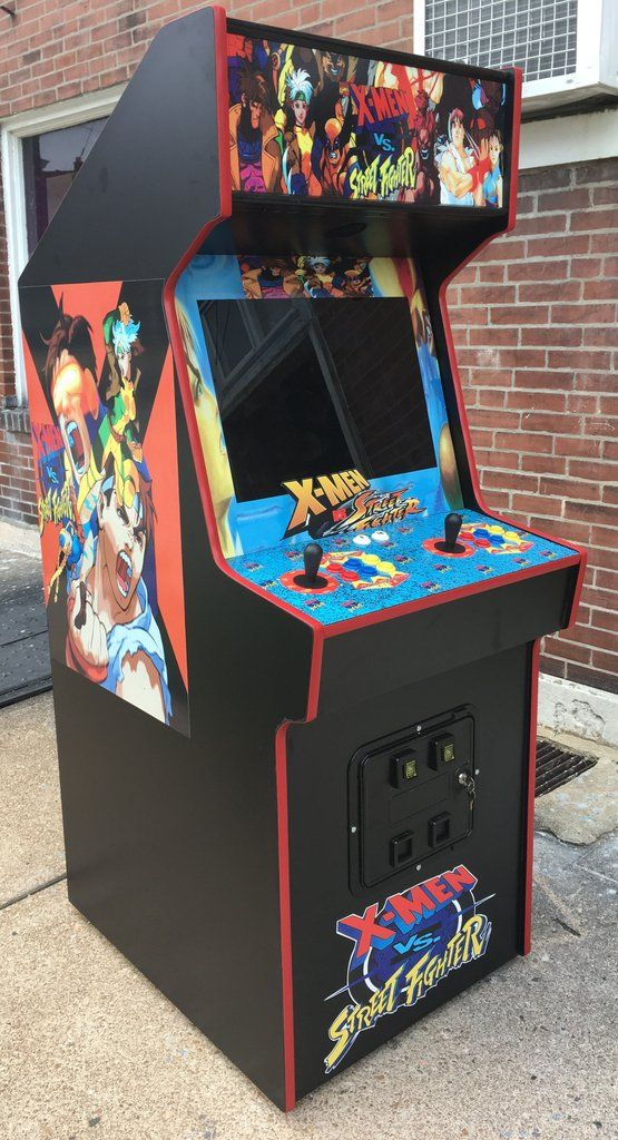 X Men Vs Street Fighter By Capcom Lots Of New Parts Sharp Arcade Arcade Game Room Retro Arcade