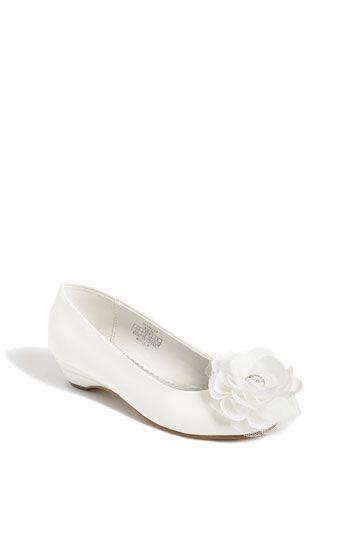 Flower Girl Shoes $58.95  Stuart Weitzman 'Sparkler' Pump (Little Kid & Big Kid) | Nordstrom