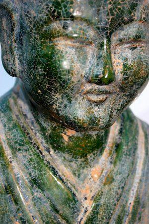 large Green Glazed Servant Han Dynasty