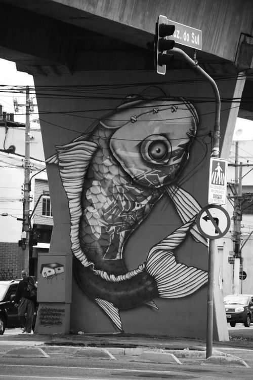 City wall art