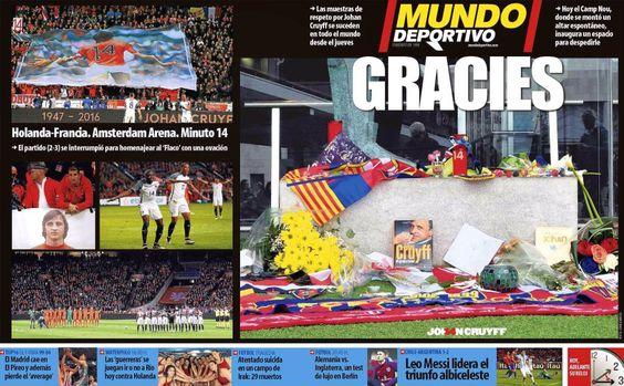 LaLiga:     Estas son las portadas de la prensa deportiva española este sábado 26 de marzo. https://t.co/2cfsUr2fLx #LigaEspañola