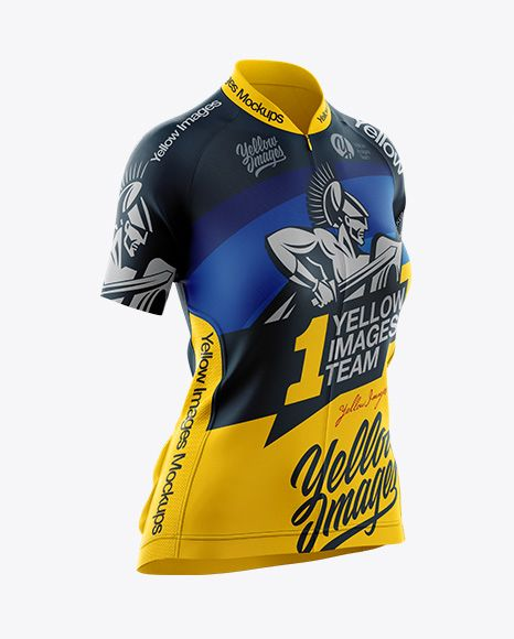 Download Women S Cycling Jersey Mockup Half Side View In Apparel Mockups On Yellow Images Object Mockups Cycling Women Women S Cycling Jersey Clothing Mockup