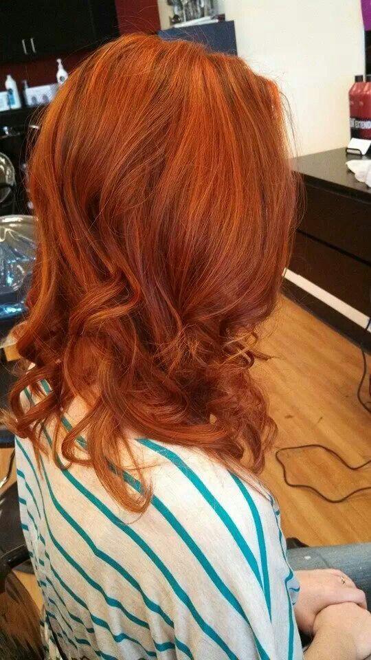 Copper hair | Hair | Pinterest | Highlights, Copper hair ...