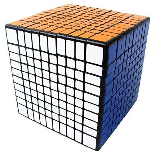 New Shengshou 10x10x10 Speed Cube Puzzle 10x10 Black Cube Puzzle Cube Rubix Cube Games