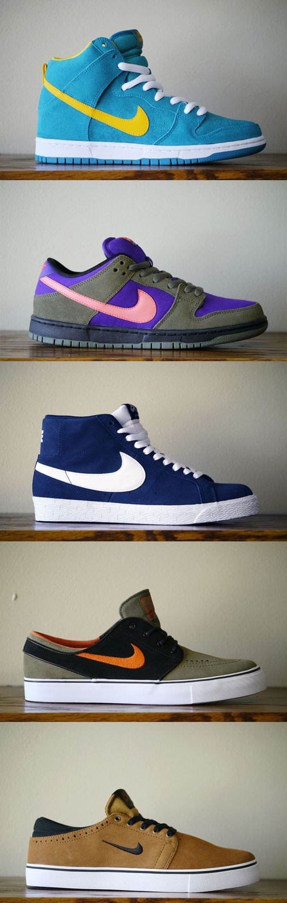 Nike SB August 2013 Sneaker Collection