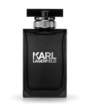 Endlich der neue Duft von Karl Lagerfeld. Der Flakon entspricht ganz seinem schwarz-weißen Couture-Code. Der Herrenduft riecht aromatisch nach Mandarine, Veilchenblatt und Sandelholz. #lagerfeld #flaconi #karlification