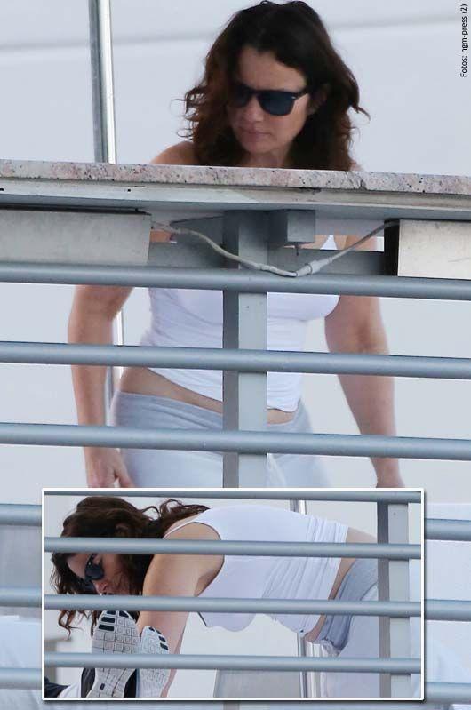 Shiva Ayyadurai | Sie hätte gern ein Kind. Die Körpermitte der Schauspielerin wird nun ...