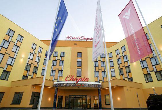 Sonderangebot im 3* Hotel Chopin, Bratislava