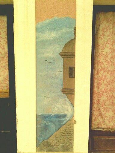 Um desenho na parede