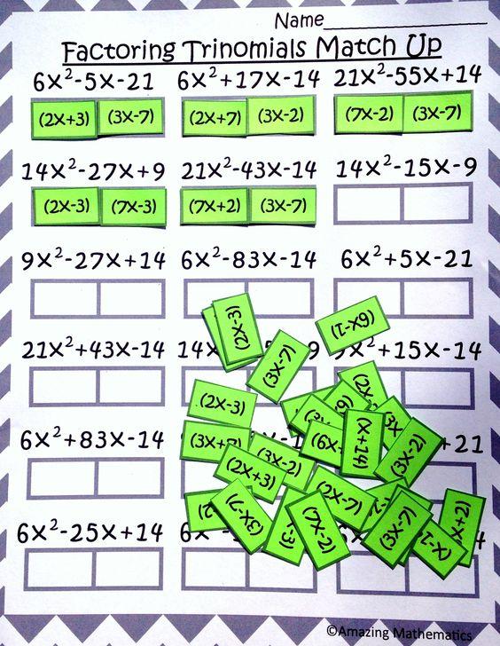 Explore hiset math math dos and more algebra student activities