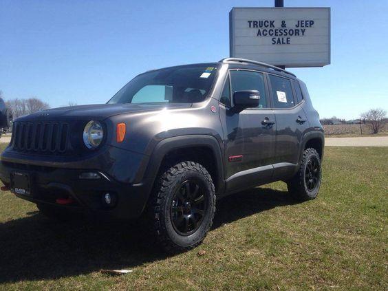 2016 Jeep Renegade Gforce Lift Wheels amp BFG KO2