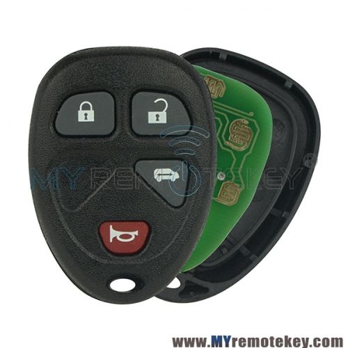 Ouc60270 Remote Key Fob For Buick Terraza Chevrolet Uplander