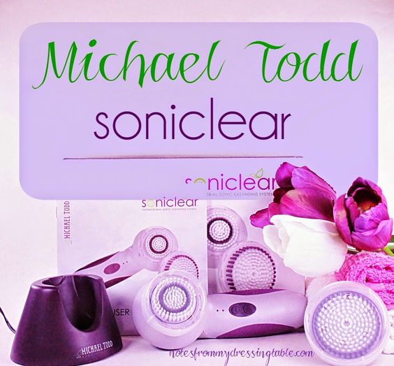 Notes from My Dressing Table: Michael Todd Soniclear Anti Microbial Skin Cleansing System Review