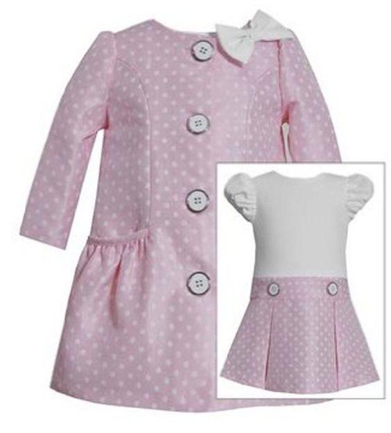 Traditional &amp classic! Pink Dress &amp Coat Ensembles! http://www
