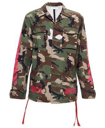 OFF WHITE - Camouflage Jacket
